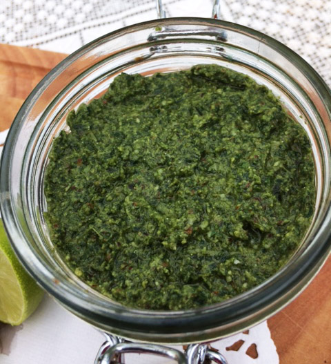 Delicious summer pesto recipe